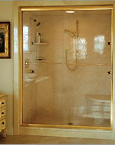 Shower Enclosure Semi-Frameless 4